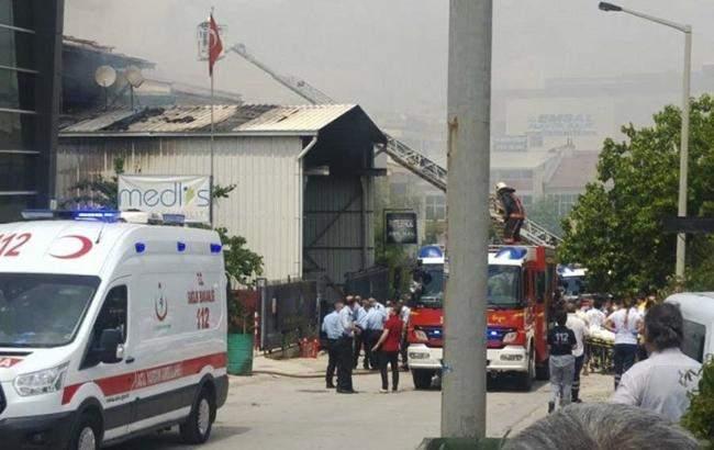 В столице Турции взорвался автомагазин: есть жертвы (видео)