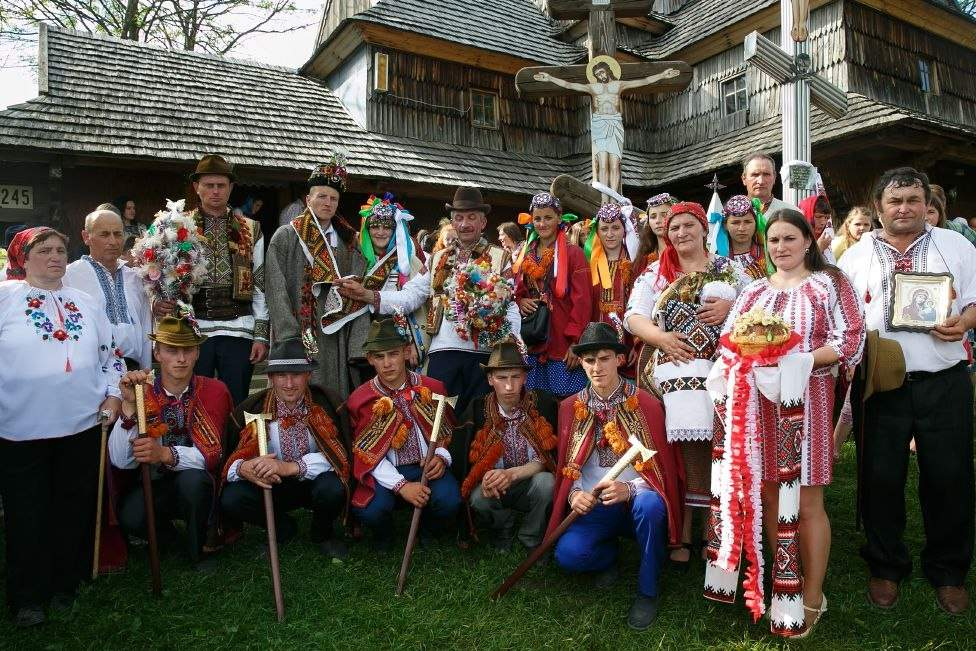 Восторг, да, и только: особенности национальной свадьбы по-гуцульски (фото)