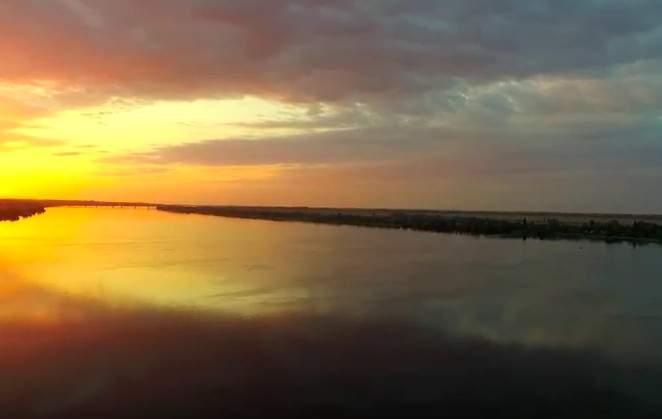 Херсонщина на закате с высоты птичьего полёта (видео)