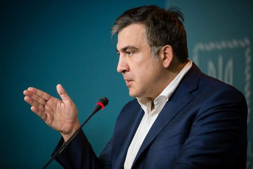 Саакашвили рассказал о готовящемся против него компромате со стороны СБУ