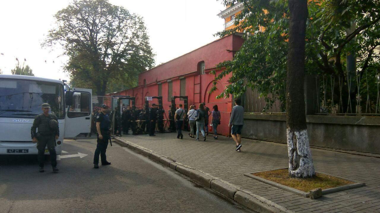В Киеве 5 тысяч полицейских охраняют