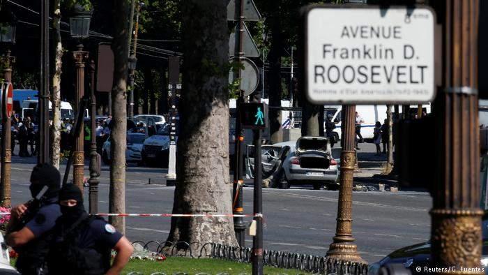 Антитеррористическая прокуратура Франции расследует инцидент в центре Парижа