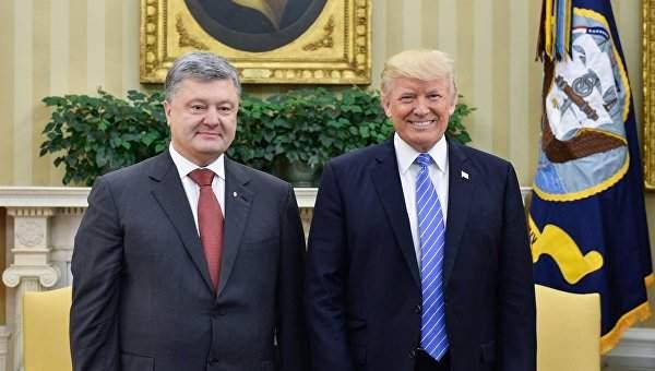 Итоги состоявшейся встречи Порошенко и Трампа