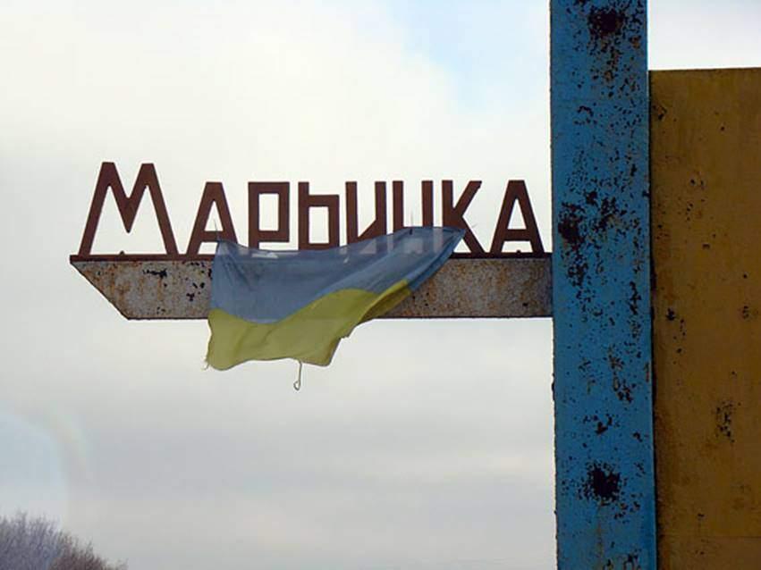 В результате утреннего обстрела пострадала мирная жительница Марьинки