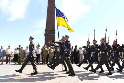 Одесситы почтили память жертв Великой Отечественной войны в Украине (Фото)