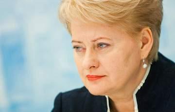 Президент Литвы по поводу РФ и Донбасса: