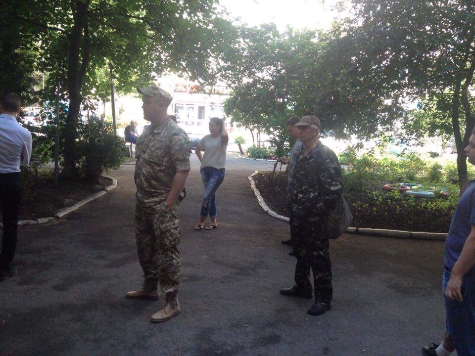 В Одессе студентов Аграрного университета насильно мобилизировали в Нацгвардию (фото)