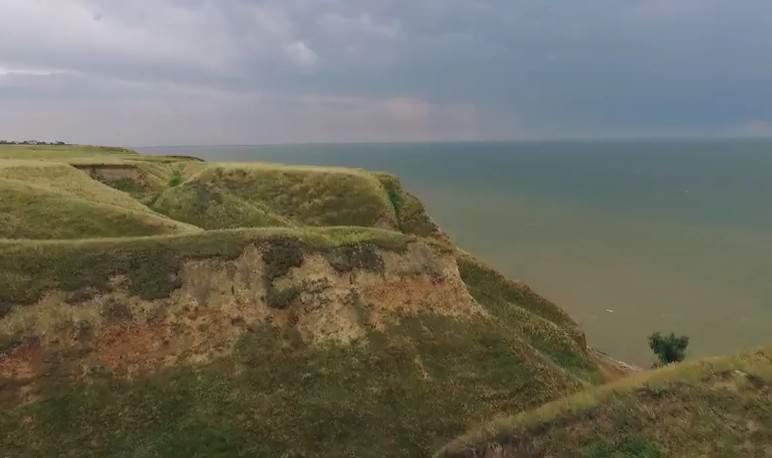 Херсонский Гранд Каньон с высоты птичьего полёта (видео)
