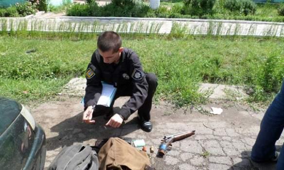 На Одесчине мужчина пытался убить сожительницу с охотничьего ружья (фото)