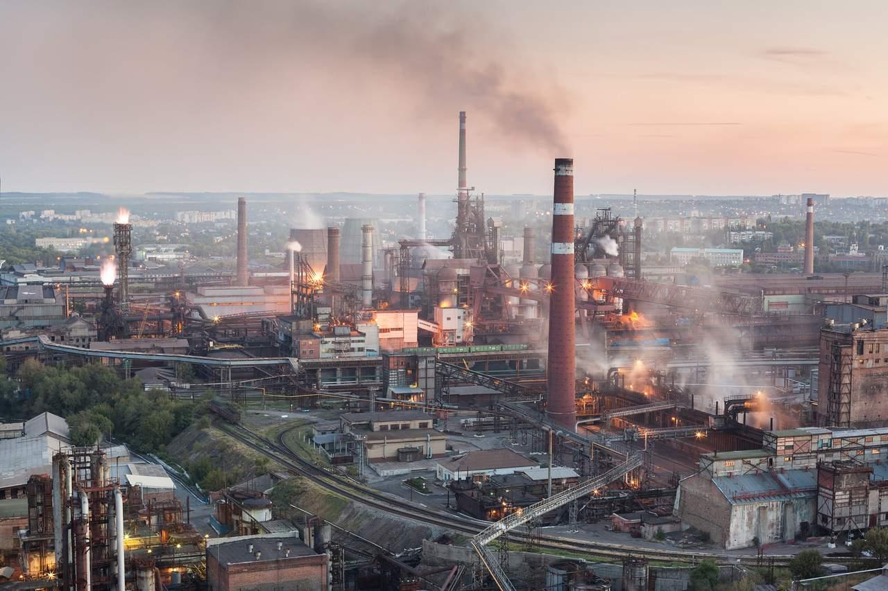 В Донецке приостановил свою работу Донецкий металлургический завод