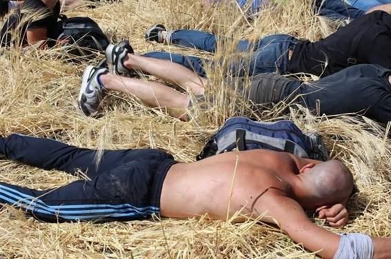 Попытка рейдерского захвата фермы на Кировоградщине: Задержано более 30 человек (Фото)