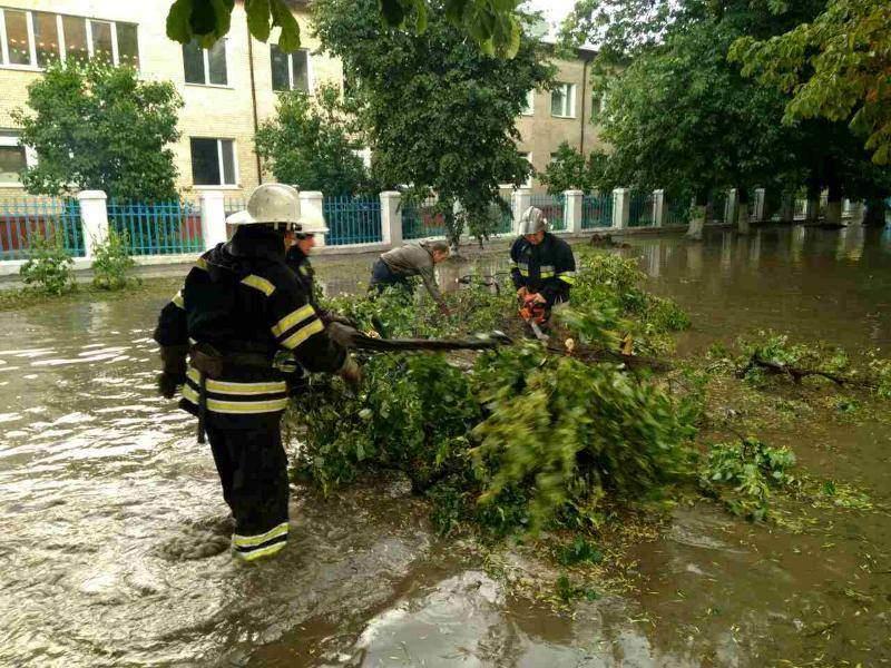 В результате непогоды в Украине погибла молодая девушка (Фото)