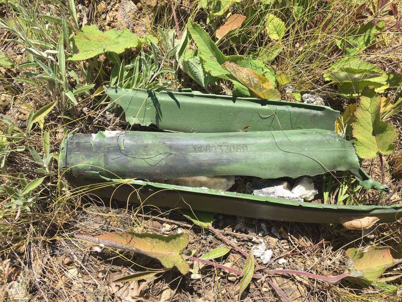 В зоне АТО был обнаруженл тайник с боеприпасами российского производства (фото)