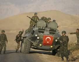 Вооруженные силы Турции ответили огнем по позициям курдов в Сирии
