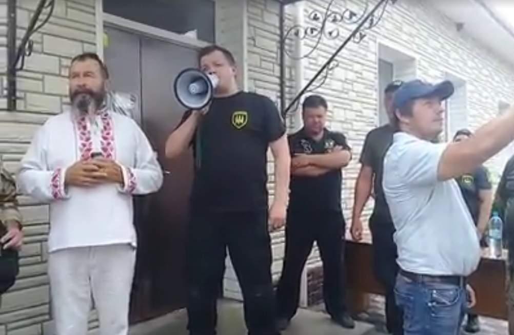 Штаб блокады совместно с фермерами в Бережинцы Кировоградской области выдвинули свои требования к власти (видео)