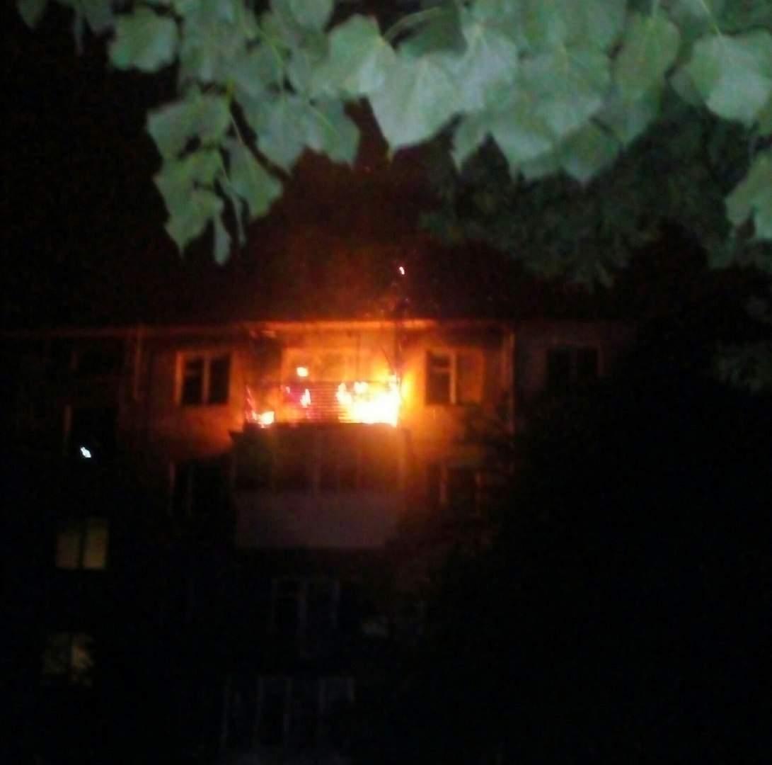 Во Львове в результате пожара в многоэтажке эвакуировали всех жильцов (фото)