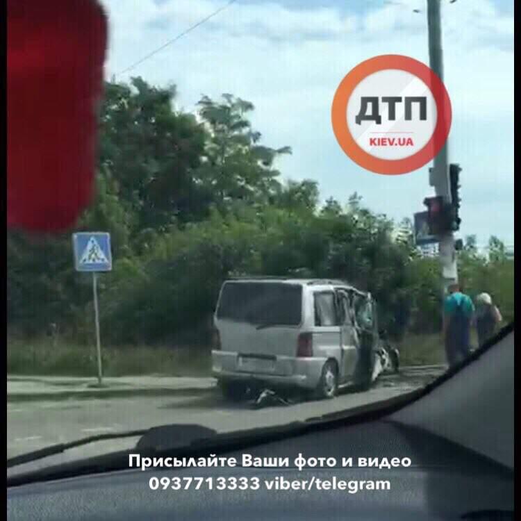 На трассе Киев-Одесса произошло сокрушительное ДТП (фото)