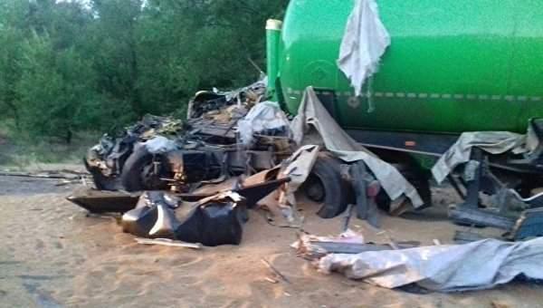 Масштабная авария с грузовиками Николаевщине: Есть погибшие