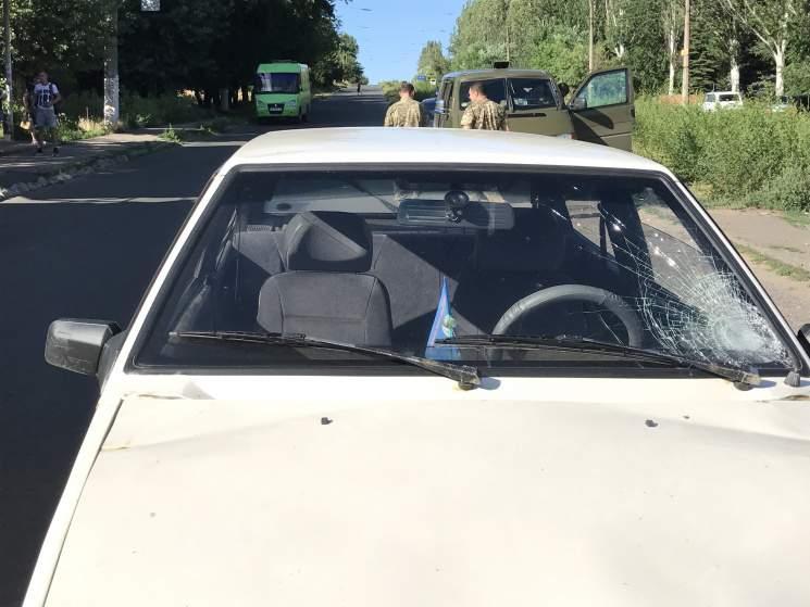 На Донетчине военный совершил наезд на подростка (фото)