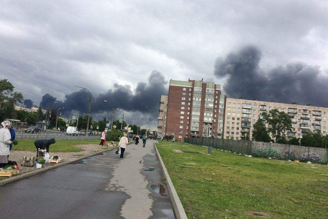 В Санкт-Петербурге на заводе