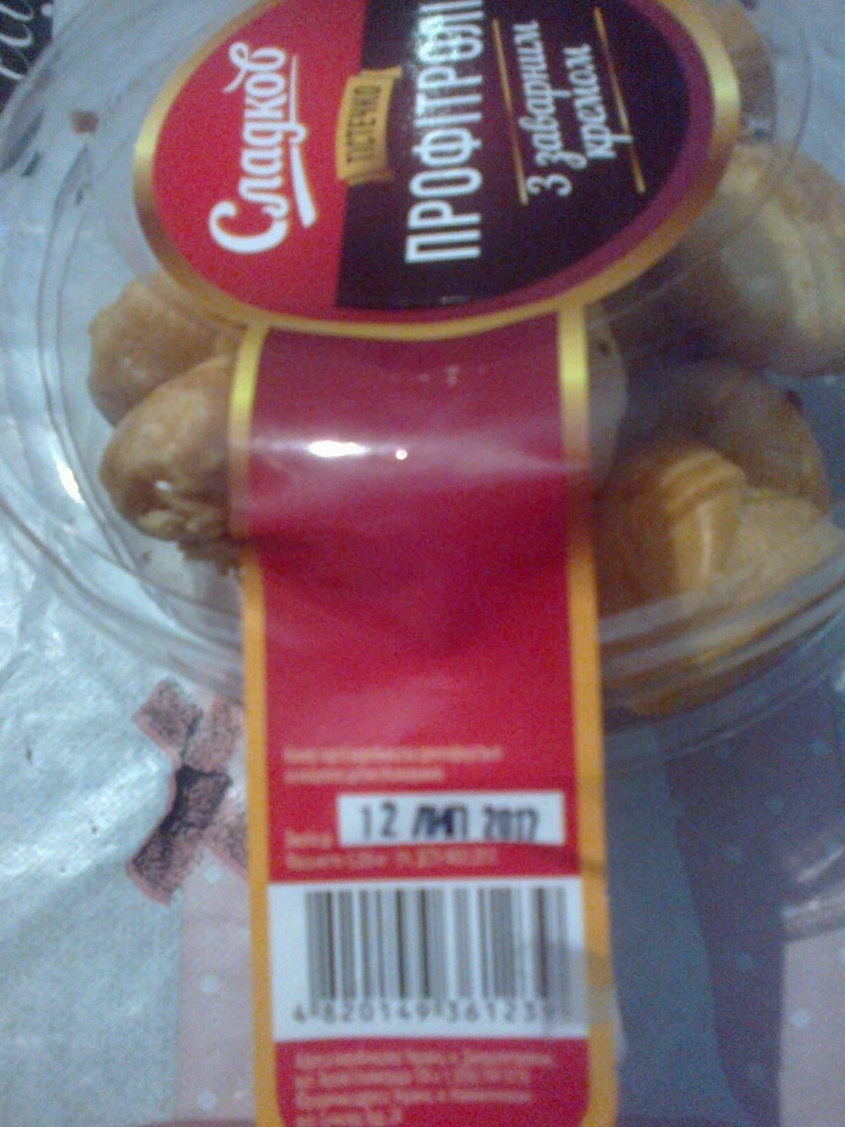 В харьковском супермаркете реализуют профитроли с плесенью (фото)