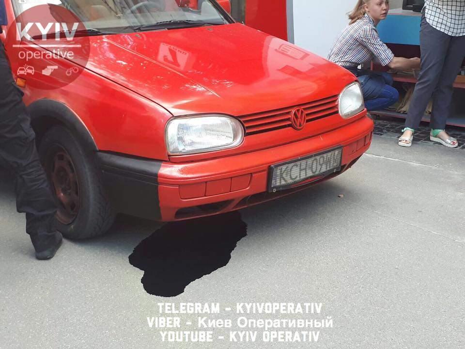 В Киеве полицейские пресекли попытку нападения на дипломатические учреждения Польши и Германии (фото)