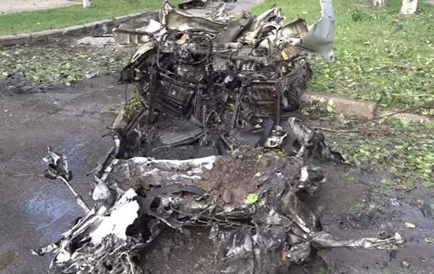 В Сети опубликовали видео с последствиями взрыва в Луганске (видео)