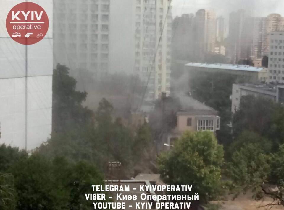 В столице раздался взрыв (Фото)