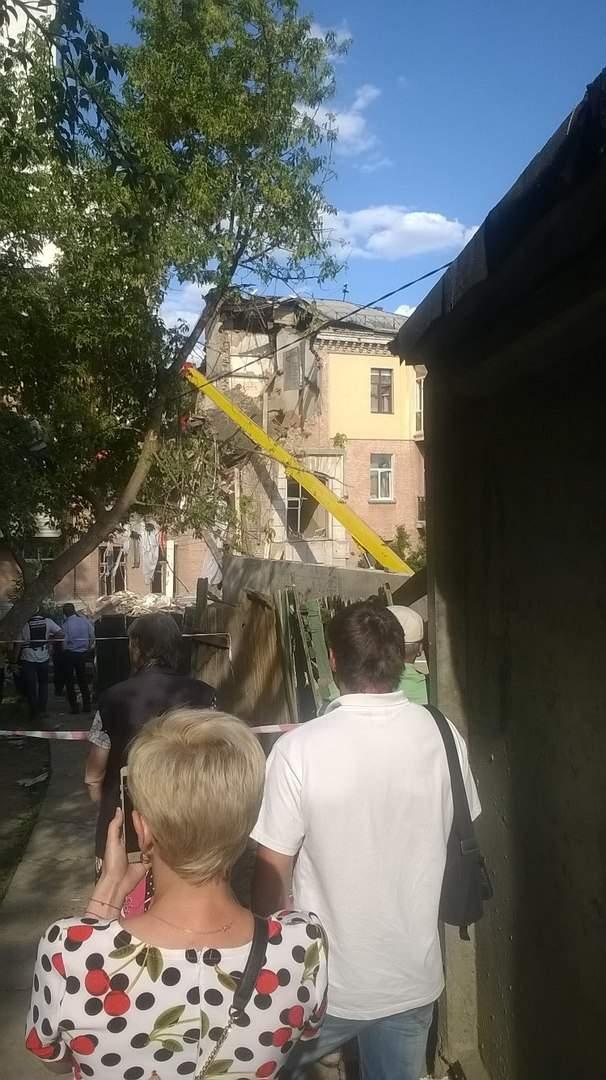 В Сети опубликовали видео с последствиями взрыва в Киеве (видео)