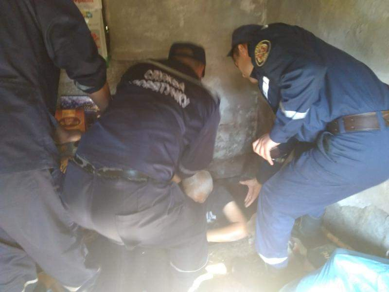 На Хмельнитчине пенсионерка упала в колодец (фото)