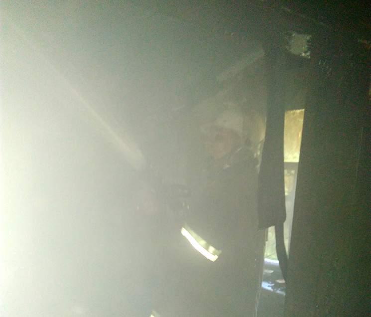В Полтавской области из-за окурка вспыхнул пожар (фото)