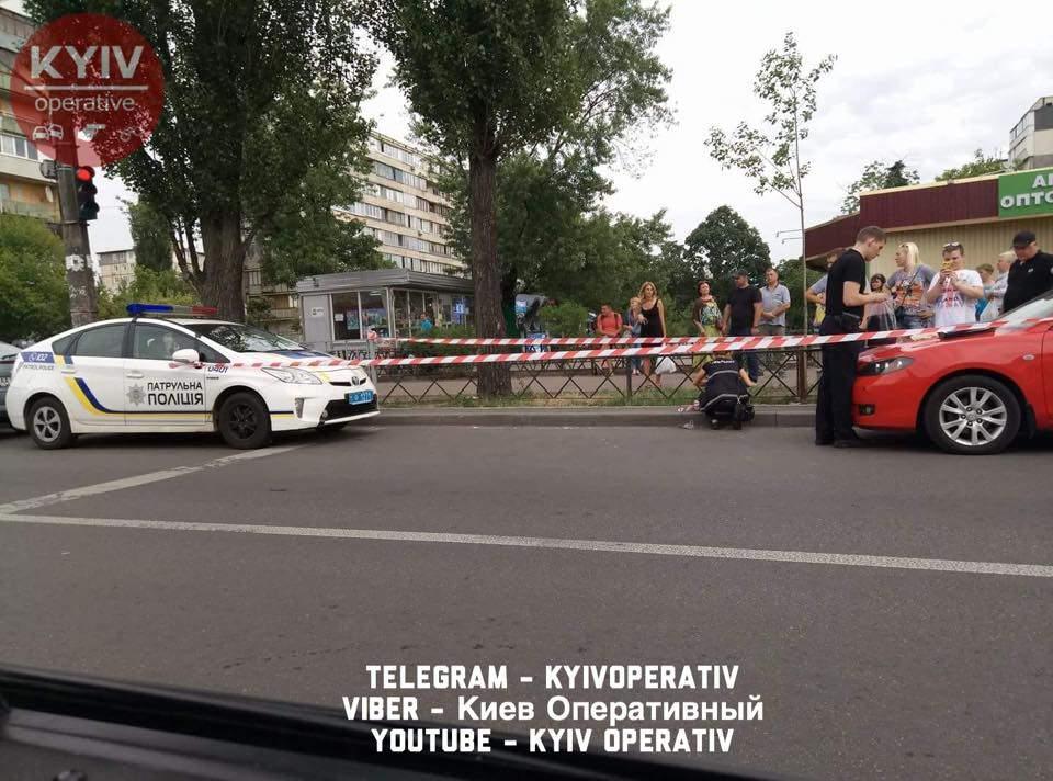 В Киеве с поличным задержали автоугонщика (фото)