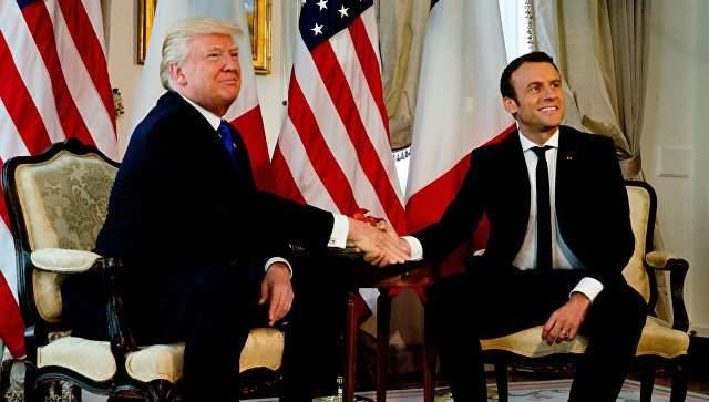 Елисейский дворец обнародовал детали визита Трампа в страну