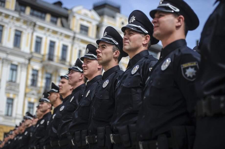 В центре Киева полиция работает в усиленном режиме