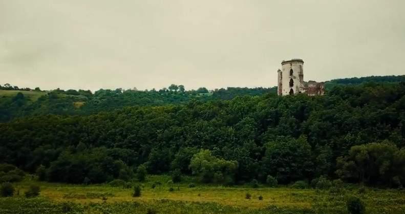 Самое мистическое место в Украине с высоты полёта (видео)