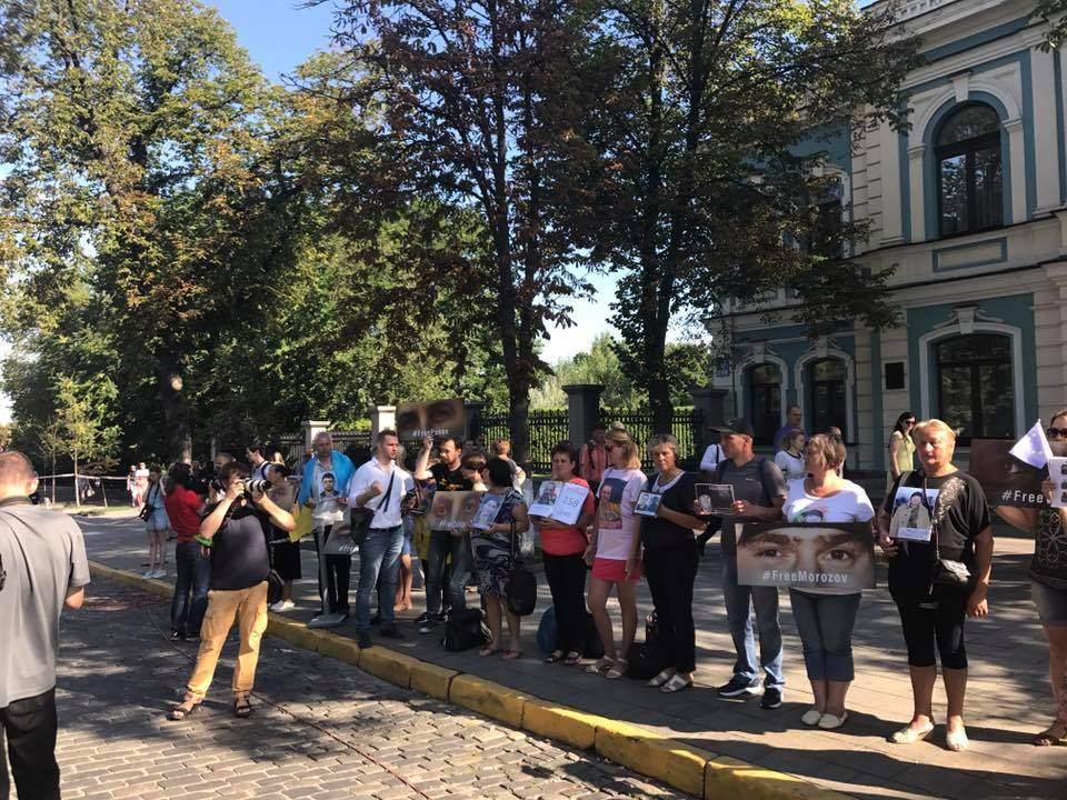 Родные заключенных украинцев в РФ обратились к лидерам ЕС (Видео)