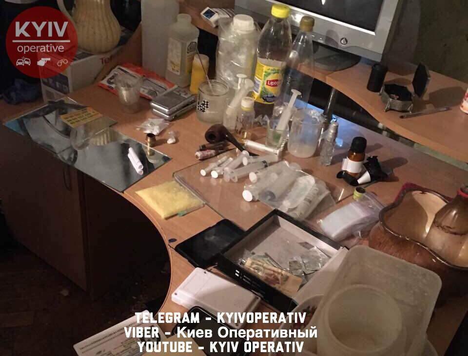 В столице раскрыли сразу две нарколаборатории (Фото)