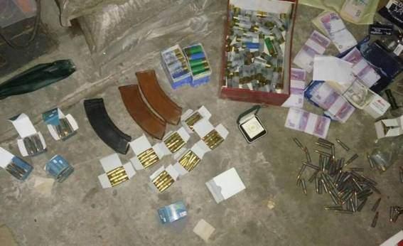 На Киевщине у причастных к убийству Сергиенко нашли арсенал оружия (фото)