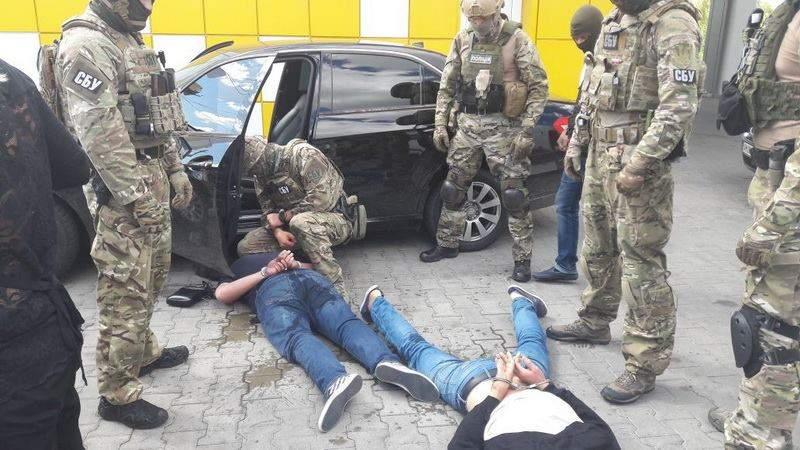 В Житомирской области СБУ задержала банду вымогателей (фото)