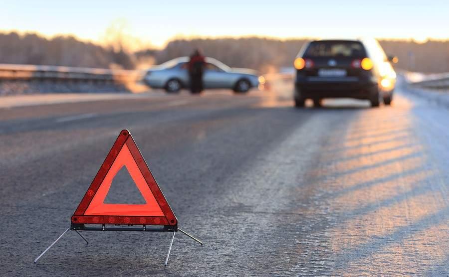 Смертельное ДТП в Киеве: столкнулись 4 грузовика (видео)