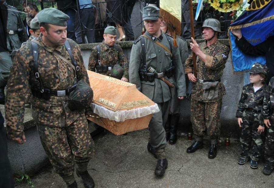 Во Львовской области перезахоронят воинов украинской дивизии