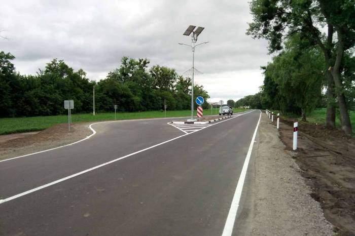 На Полтавщине оборудовали первый в стране комплекс для ограничения скорости