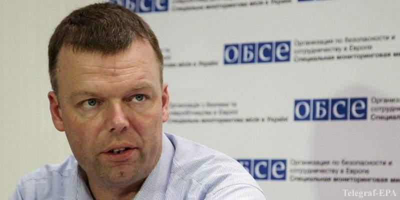 Александр Хуг прибыл в Донецк с целью мониторинга ситуации