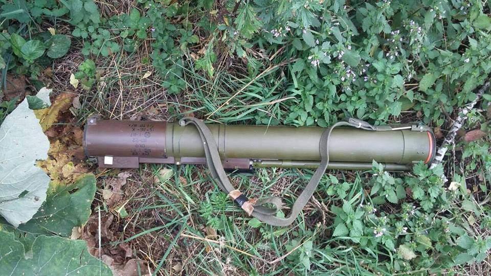 В Киевской области найден арсенал оружия (Фото)