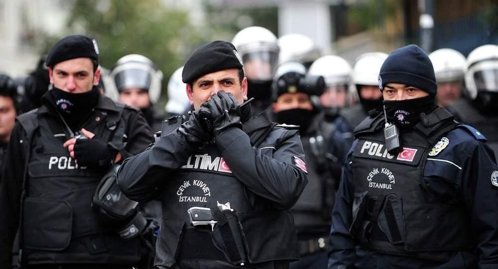 Турецкая полиция задержала десятки людей на акции в поддержку протестующих