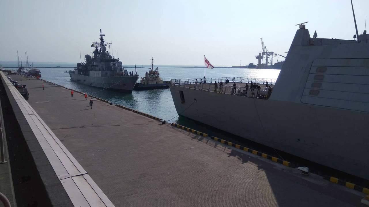 В порт Одессы привезли корабли постоянной военно-морской группы НАТО (Фото)