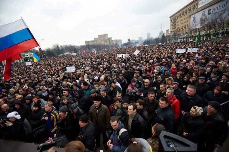 Добкин показал фото с митинга 2014 года в Харькове (Фото)