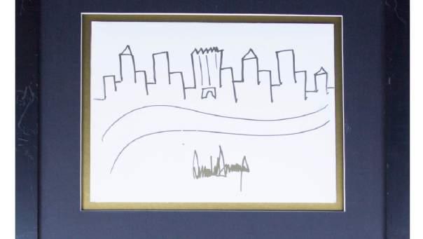 Рисунок американского президента продадут с молотка (Фото)