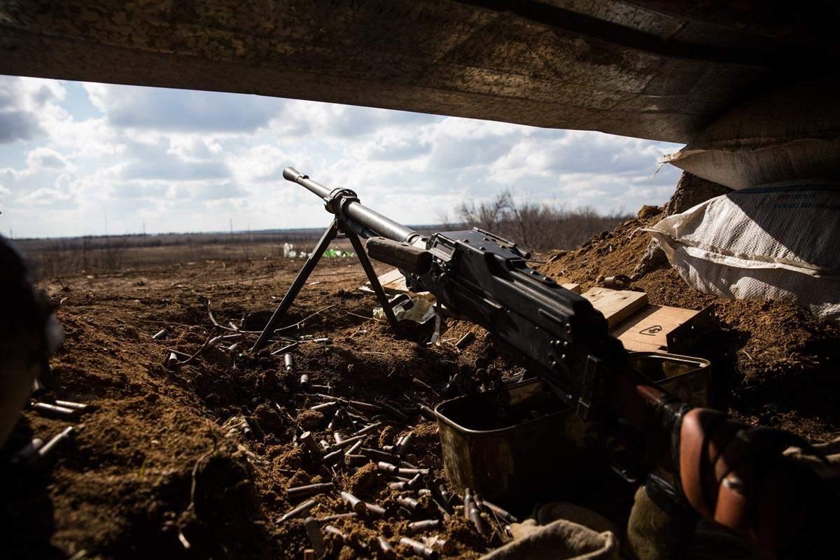 За сутки один украинский военный получил ранение