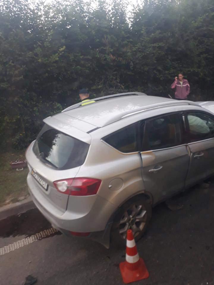 На Львовщине произошло мощное лобовое ДТП (Фото)